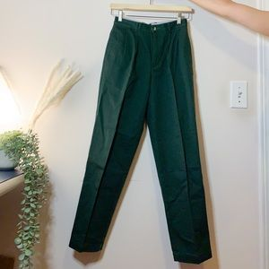 Tommy Hilfiger Forest Green Trousers